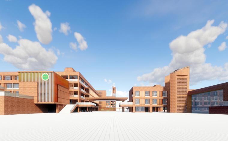 [江苏]南京外国语学校建筑模型设计(2018年)