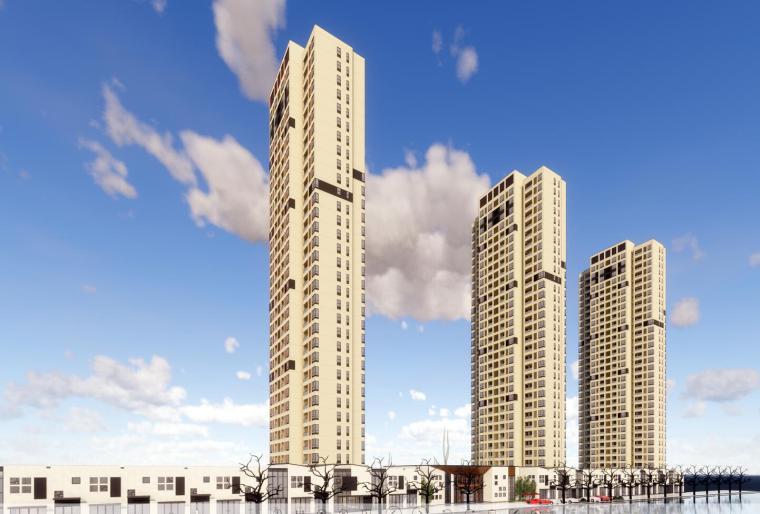 [上海]新东方示范区及商业建筑模型设计(2018年)