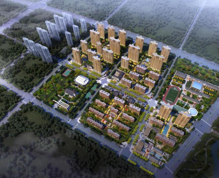 [湖北]武绿地光谷住宅建筑模型设计(PDF+167页)