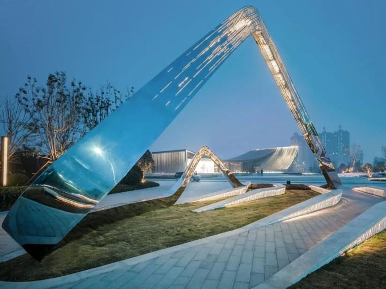 濮阳建业世和府示范区景观