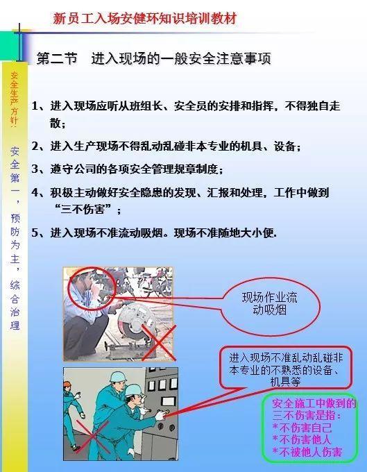 26套建筑施工安全教育培训讲义PPT合集_10