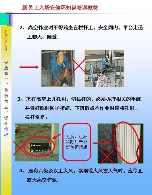 26套建筑施工安全教育培训讲义PPT合集_15