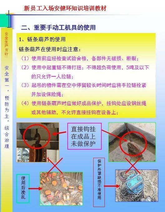 26套建筑施工安全教育培训讲义PPT合集_23