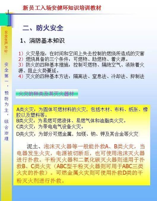 26套建筑施工安全教育培训讲义PPT合集_34