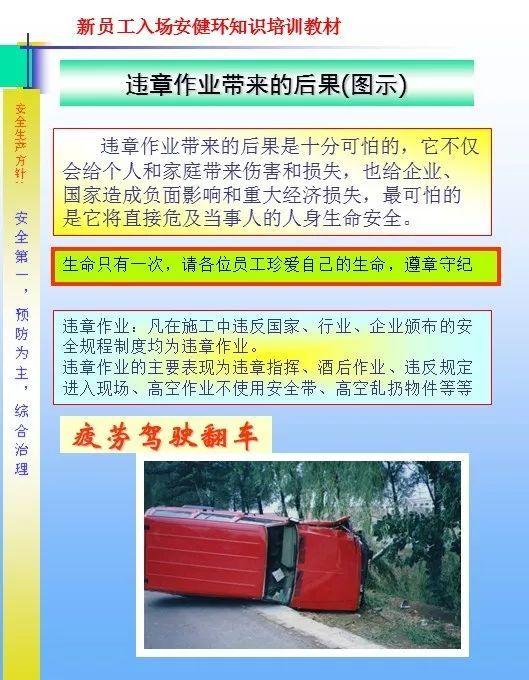 26套建筑施工安全教育培训讲义PPT合集_44
