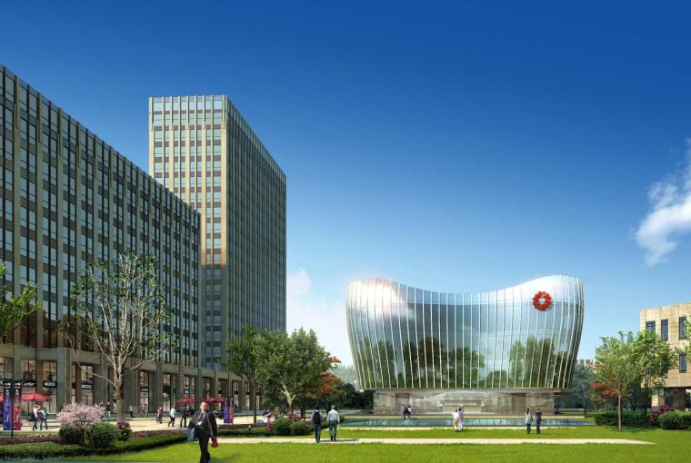[浙江]萧山科技城·传化国际科创园建模型设计(2018年)
