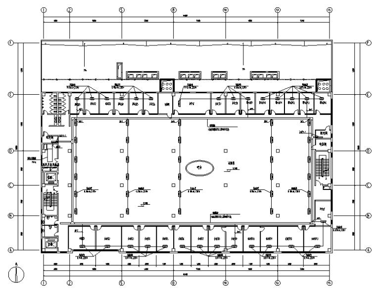 上海四层新建厂房项目电气施工图