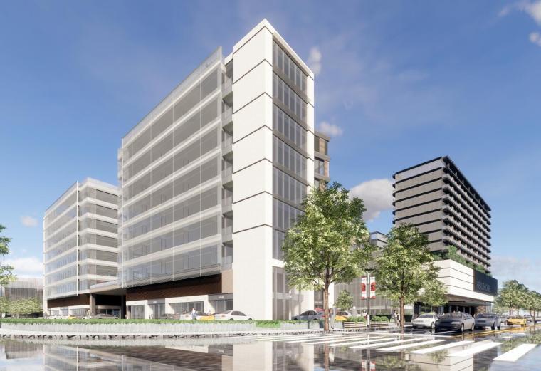 绿地小昆山综合项目建筑模型设计(青年公寓+养老公寓+酒店)