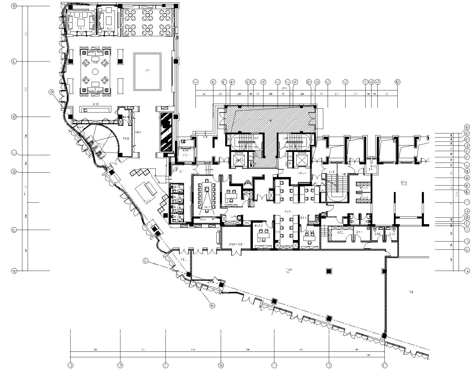 [集艾设计]上海海珀黄浦售楼处CAD施工图