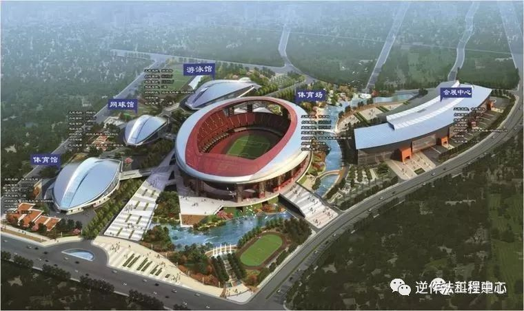 [行业案例]体育场径向环形大悬挑钢结构综合施工技术研究_3