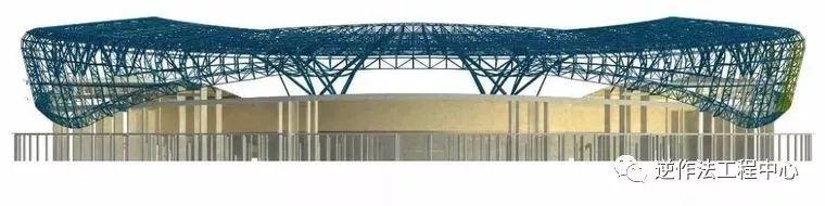 [行业案例]体育场径向环形大悬挑钢结构综合施工技术研究_7