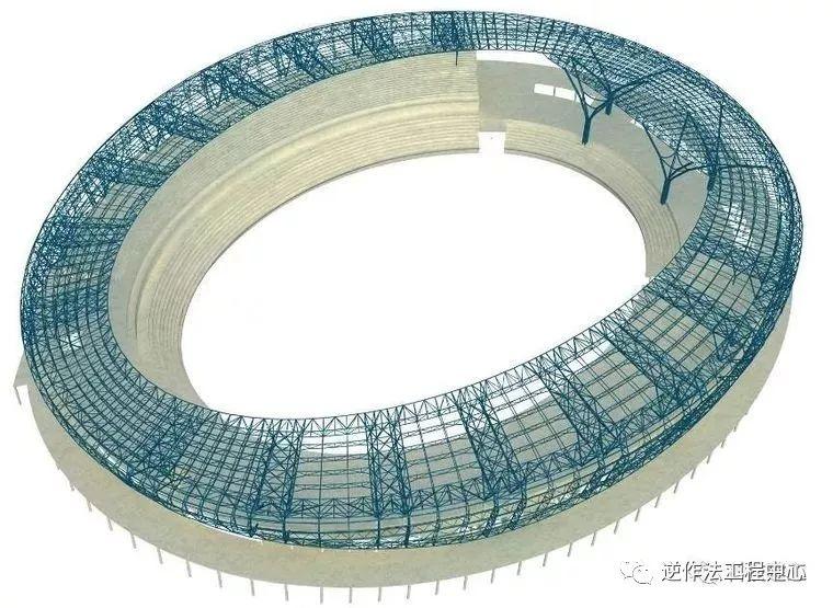 [行业案例]体育场径向环形大悬挑钢结构综合施工技术研究_6