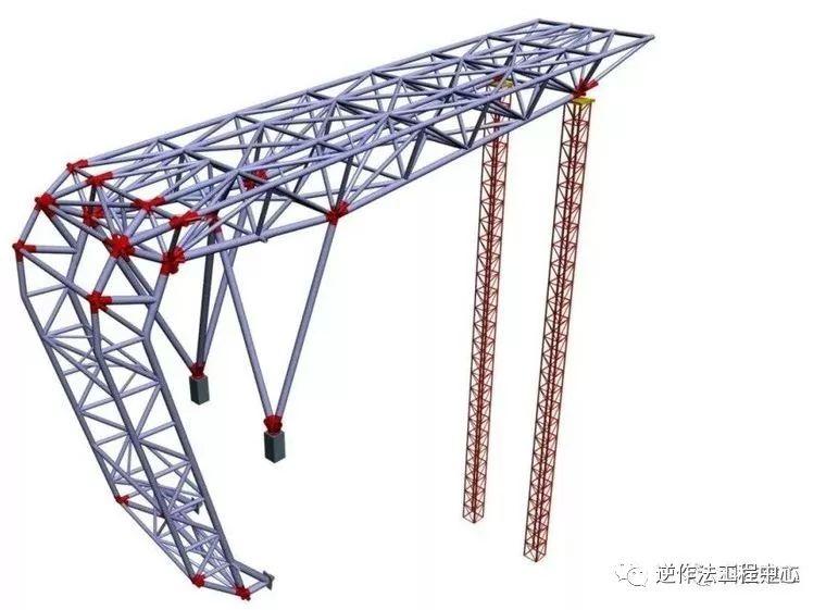 [行业案例]体育场径向环形大悬挑钢结构综合施工技术研究_26