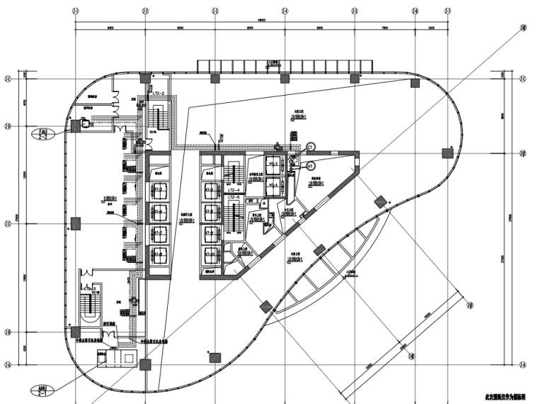 上海世贸滨江花园商务区暖通设计施工图(PDF)