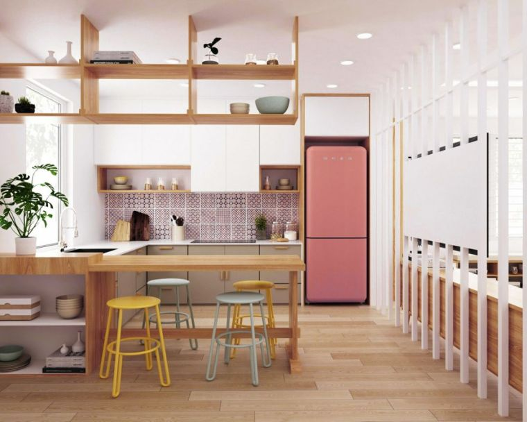 20款厨房设计:大厨房、小厨房、中式厨房、西式厨房_2