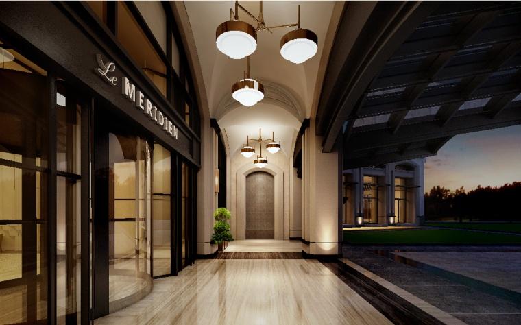 [上海]柏涛建筑-上海崇明岛绿地艾美酒店概念深化方案