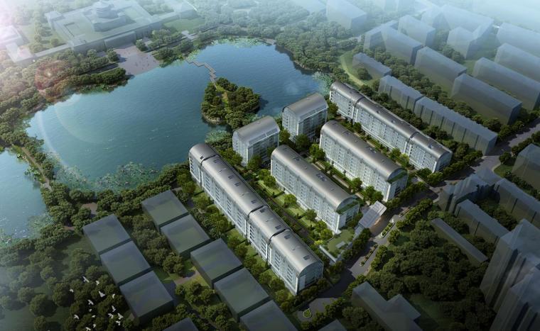 [北京]融创·壹号院顶级现代豪宅洋房建筑模型设计
