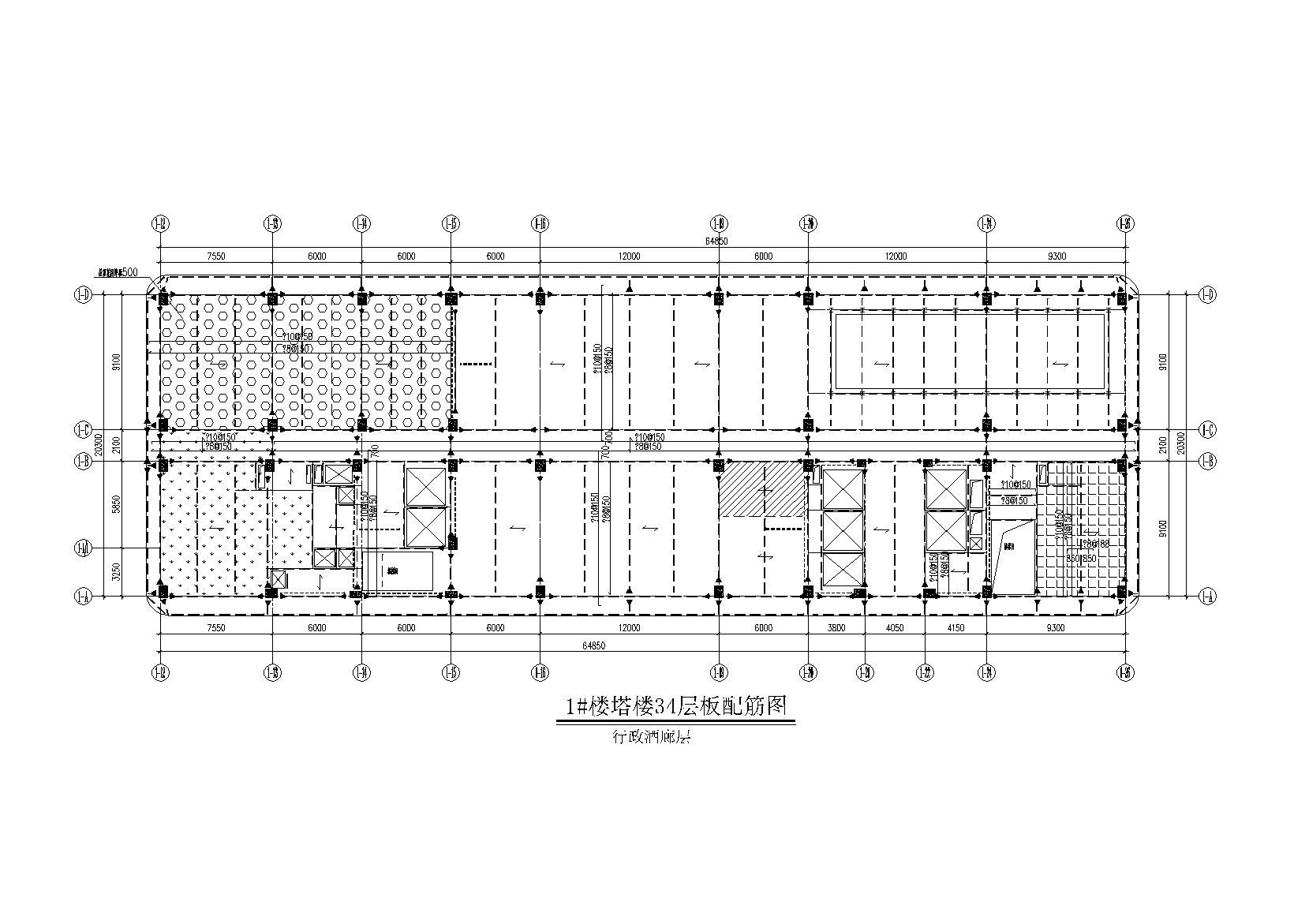 [厦门]磐基酒店(钢框架+钢支撑)全套施工图(建筑结构水暖电)