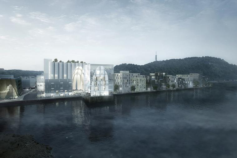 Kunstsilo方案——对挪威历史谷仓进行保护,改建和重现