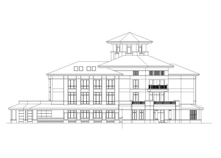 [湖南]长沙绿城育华幼儿园建筑施工图(6班+CAD)