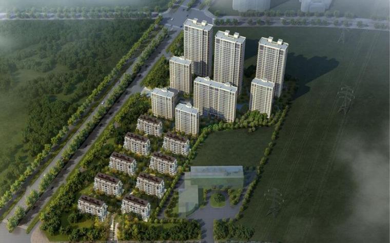 [安徽]融创·玖樟台合肥肥西地王豪宅建筑模型设计(2018年)