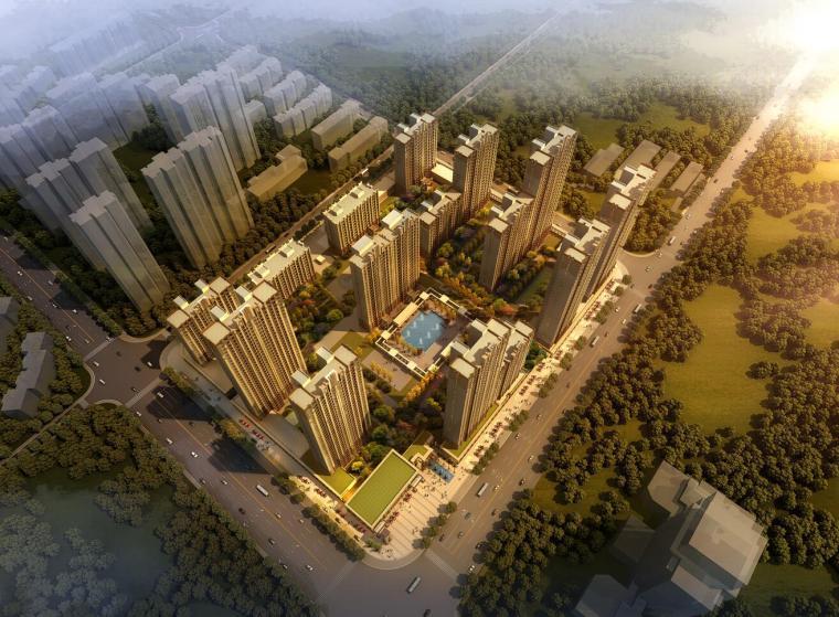[上海]金隅兴隆住宅建筑设计方案(欧陆风格)