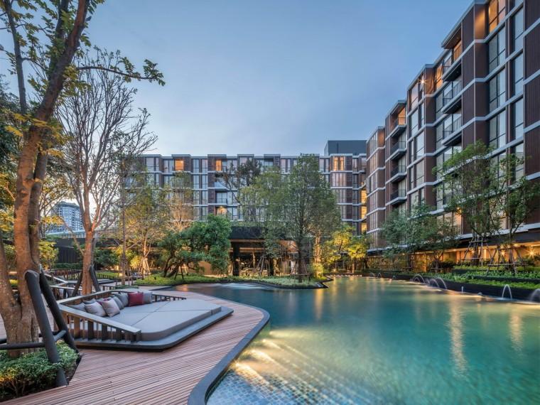 泰国上思睿MoriHAUS度假公寓景观
