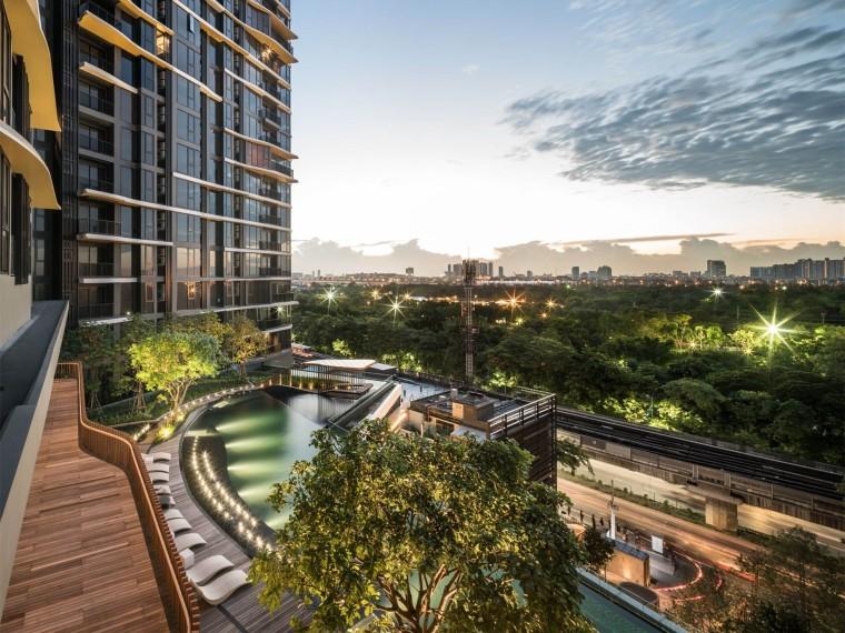 泰国上思睿线公寓景观