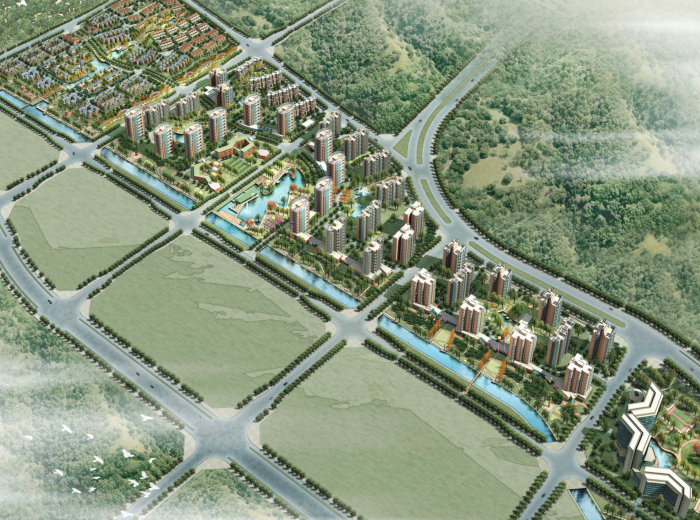 北京长辛店新区生活区(西区)概念性规划设计文本