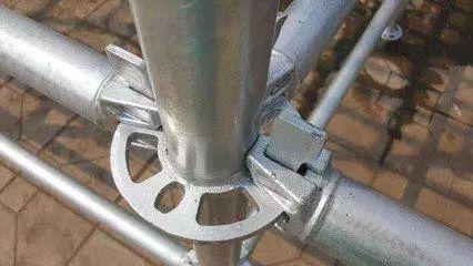 外墙承插型盘扣式钢管脚手架施工工法