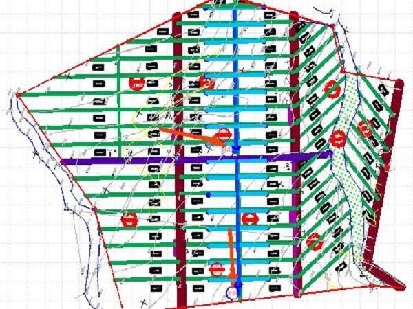 土地开发整理规划设计之田间路和生产路