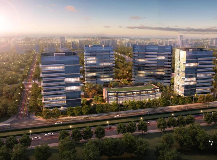 [上海]浦东前滩居住区建筑设计方案(PDF+284页)