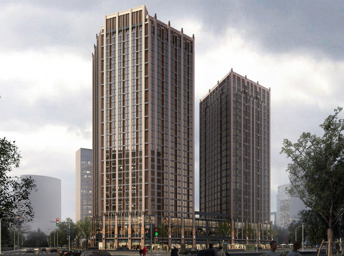 [安徽]合肥某大型高层商住建筑方案设计文本