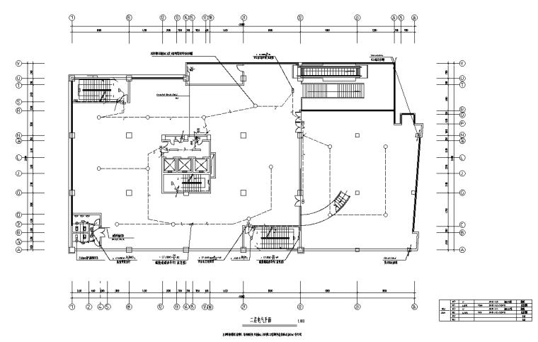 四川商业裙房及住宅项目电气施工图