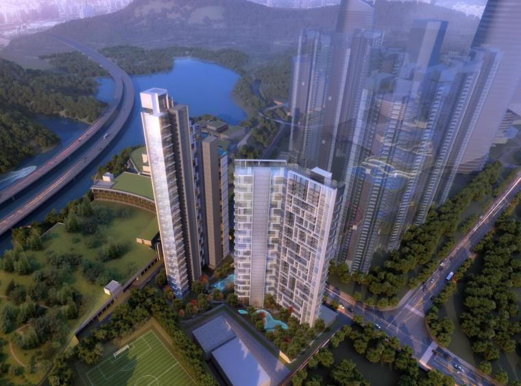[广东]星河雅宝6号地块项目建筑方案设计(PDF+48页)