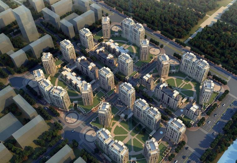 [上海]前滩居住九宫格居住区建筑方案文本(PDF+151页)