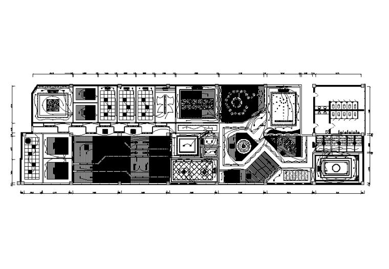 杭州展厅弱电布线图