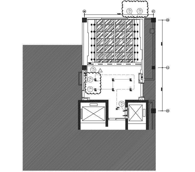 酒店礼宾酒廊、特色餐厅电气设计施工深化图