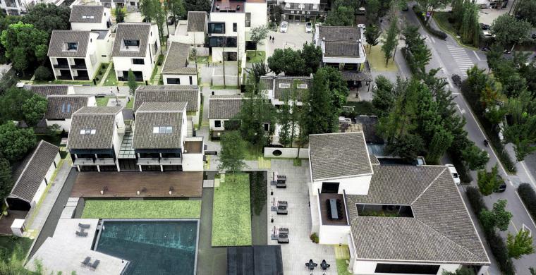 古镇案例-乌江自然人文村落(40套:城镇、