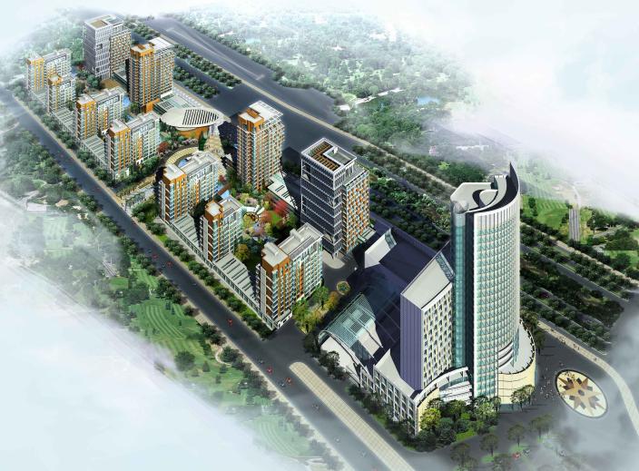 [吉林]长春万豪项目地块规划建筑设计文本
