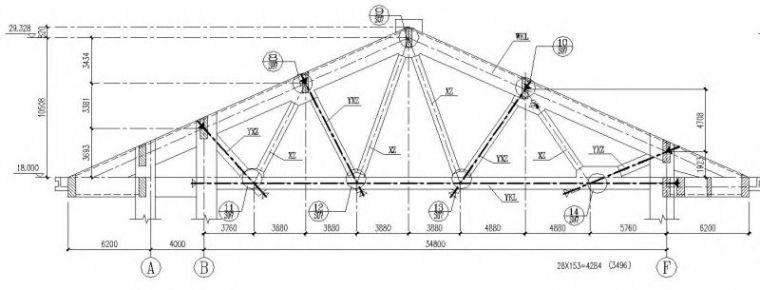 大跨度桁架结构优化设计BIM应用