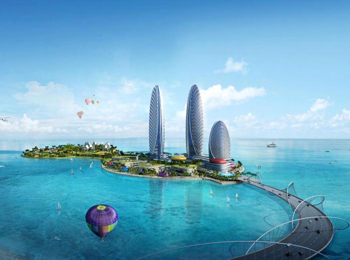 [海南]海口灯塔酒店(海口世界贸易中心)概念性规划设计最终文本