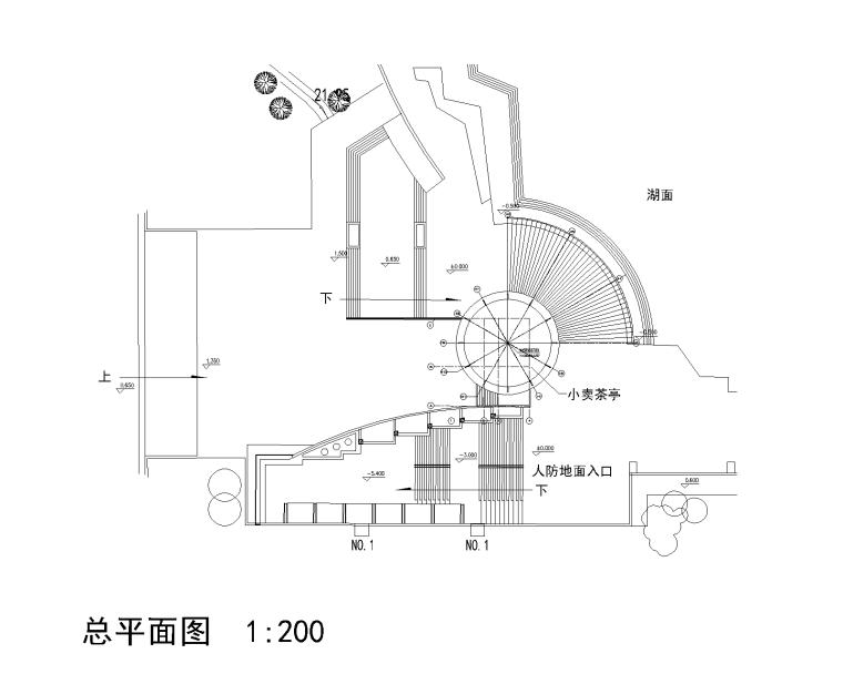 园林公建-2套茶室CAD施工图