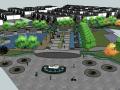 建筑别墅居住区景观su模型