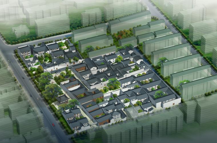 [杭州]小营巷历史街区保护规划方案文本(街区改造)