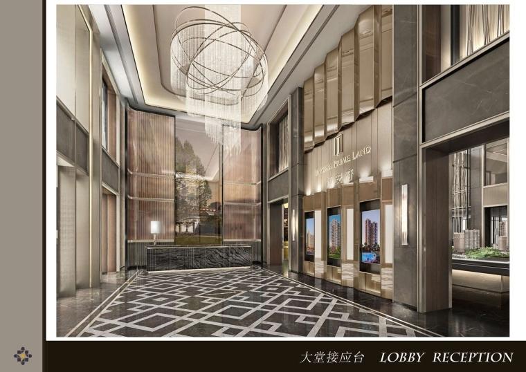 HBA-上海华发闸北销售中心售楼部室内深化设计方案