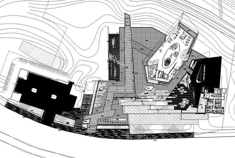 [重庆]龙湖昱湖壹号居住区景观施工图设计(园林建筑|CAD)