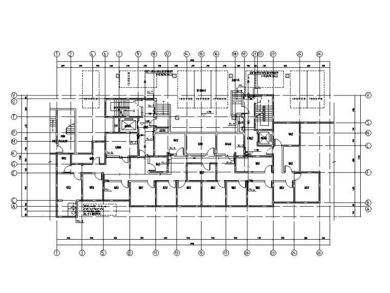 上海华润二十层住宅楼给排水设计施工图