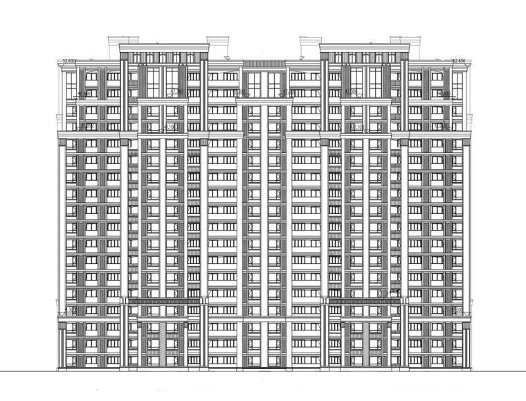 [湖南]世茂暨阳湖三角洲住宅建筑施工图设计(CAD)