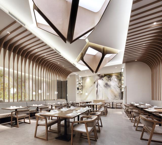 """餐饮空间设计,""""艺鼎新作"""",每个景都是属于你的院落"""